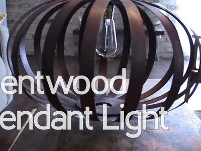 How to Make a Bentwood Pendant Light