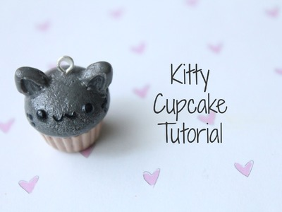 Kitty Cupcake Polymer Clay Tutorial!