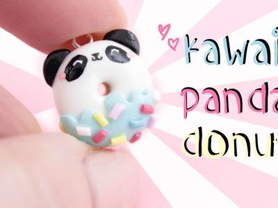 Panda Donut Diy! -in Clay!-  | Kawaii Friday