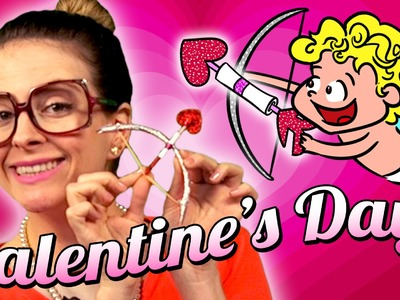Valentine's Day - Cupid's Bow and Arrow Craft | Arts and Crafts with Crafty Carol at Cool School