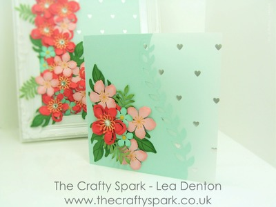 Botanical Blooms Celebration or Mothers Day Card Stampin' Up! UK