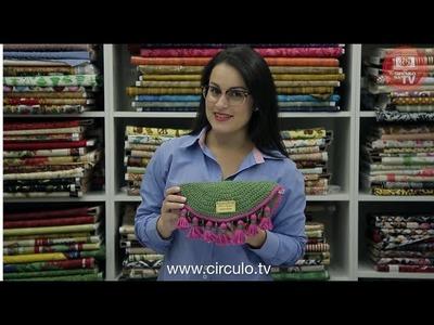 Clutch de Crochê Barroco Maxcolor