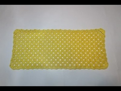 Croche Toalhinha Facil