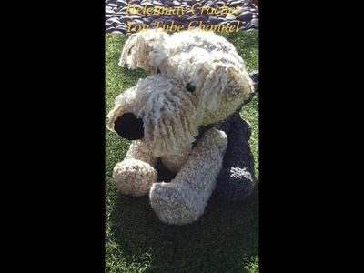 Crochet Airedale Terrier Dog Part 2 of 2 DIY Tutorial