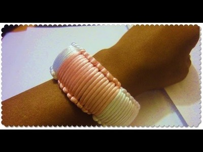DIY Bangle. Cobra Braid Bangle Bracelet