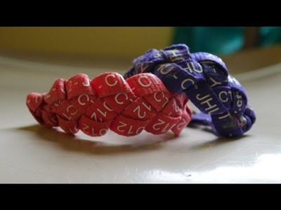DIY: 'Braided' Bracelet Using a Lanyard - How to Braid Your CTY Lanyard