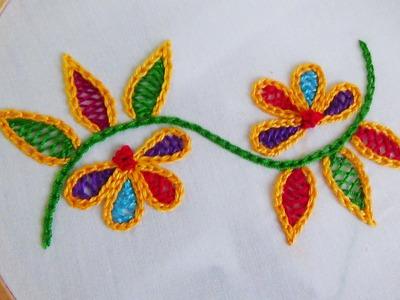 Back Stitch Embroidery On Knitting : Stitch, Mattress Stitch, Alternative to Knit Front Back (KFB) Increase, English