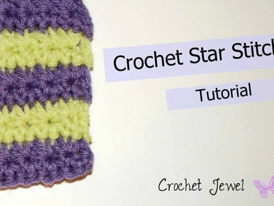 How to Crochet the Star Stitch