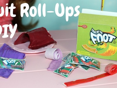 American Girl Doll Fruit Roll-Ups Craft
