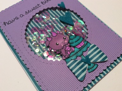 Birthday Card TUTORIAL Spiegelmom Scraps Guest Design Project (Clearly Besotted & Lawnfawn)