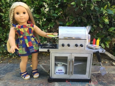 DIY American Girl Doll Grill