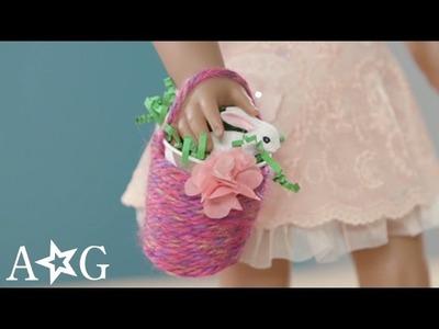 Easter & Spring Flower Basket Craft | American Girl