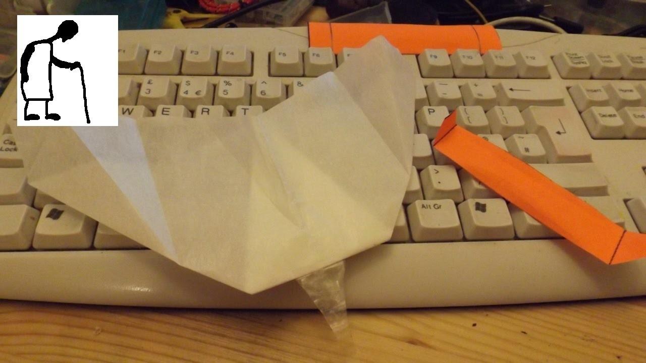 Hey Grandad can you make a tissue paper walkalong glider?
