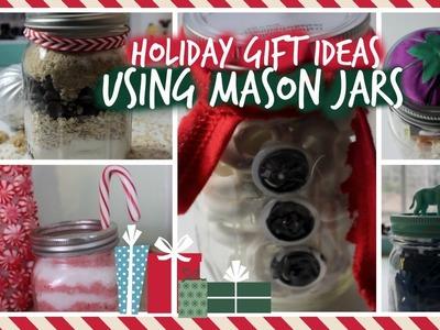 HoliDIY ♡ 6 Gift Ideas Using MASON JARS!!!