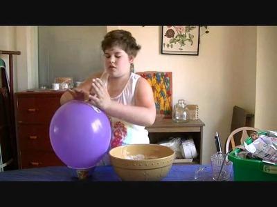 How to make a pig piñata. Carafe Tea