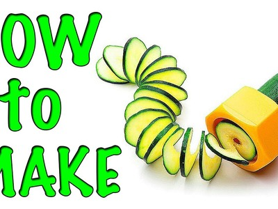 How to make a spiral grater