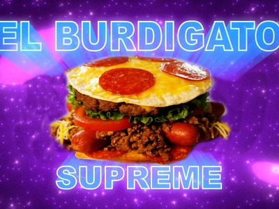 How to Make EL BURDIGATO SUPREME from Teen Titans Go! Feast of Fiction S5 Ep3
