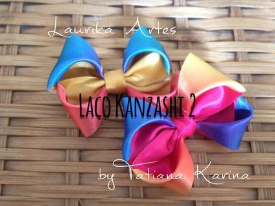 Laço Kanzashi 2 by Tatiana Karina