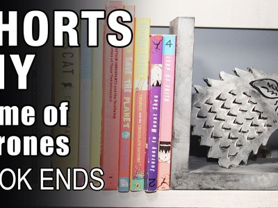 Mad Stuff With Rob - MSWR Shorts | How To Make Game Of Thrones Book Ends