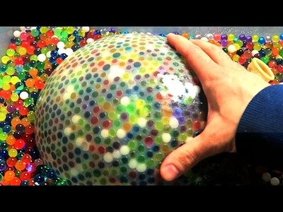 Make the World's Biggest Waterball Orbeez Stress Ball!