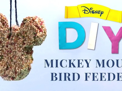 Mickey Mouse Bird Feeder | Disney DIY