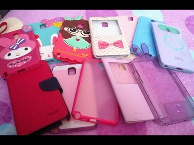♥ My Samsung Note 3 Case Collection ♥