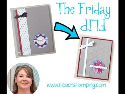 New Friday Flip Card Making Video Tutorial - You Are Amazing