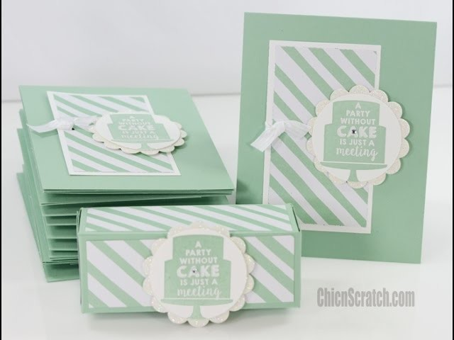 One Sheet Wonder - Featuring Party Wishes by Stampin' Up!