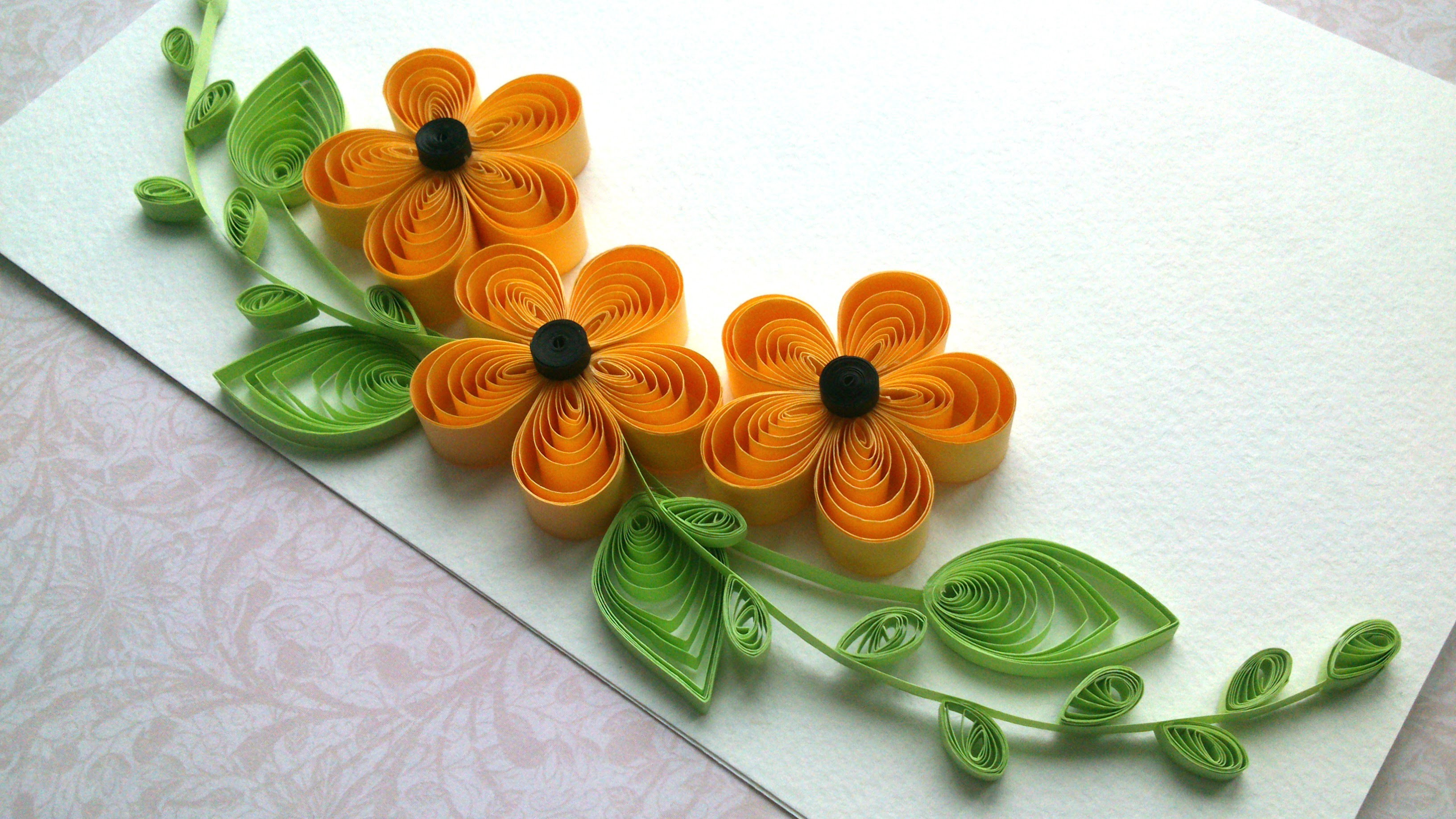 Quilling ideas quilling designs flowers and quilling for Quilling designs how to make