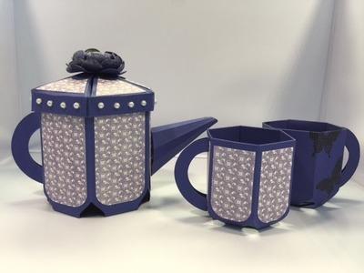 Tea Pot Tutorial Part 1 of 2
