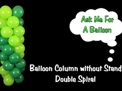 Balloon Column Tutorial without Stand.Frame