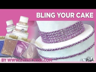 Bling Your Cake by www.sweetwise.com
