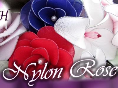 Decorative Nylon Rose | D.I.Y.