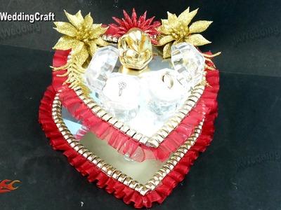 DIY Engagement. Wedding Ring Platter   How to make   JK Wedding Craft 074