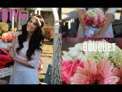 DIY: How to Make Bridesmaid Bouquets!