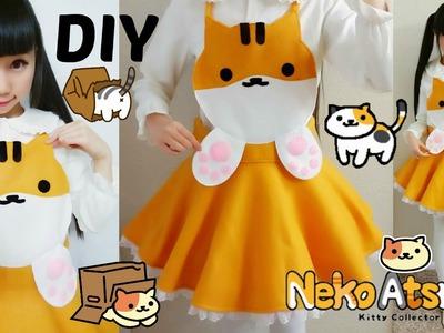 DIY Neko Atsume Cosplay Costume | Easy Sewing | No Zipper&Elastic