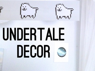 DIY Undertale Annoying Dog Decor