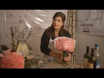 DIY Wedding Flower Storage : Wedding Flowers