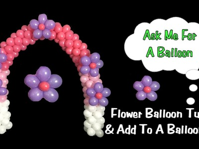 Flower Balloons for Arch Decoration