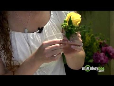 How to Finish Your Boutonniere