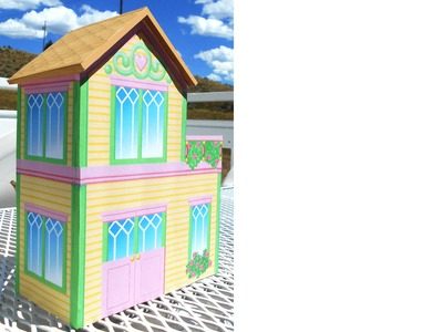 How to Make a Foamboard Dollhouse