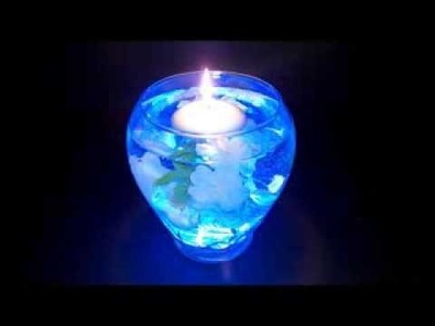 How To Make A Light Up LED Centerpiece