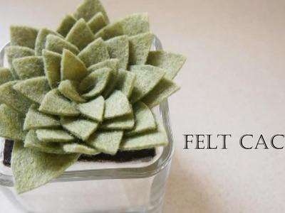 How to make Felt Cactus