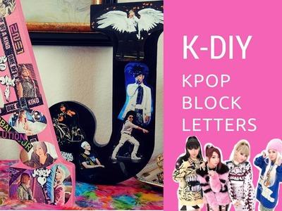 K-DIY 2NE1.BIGBANG Block Letters - Home Decor