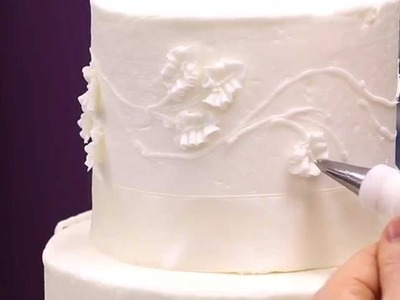 Making Your Own Buttercream Wedding Cake