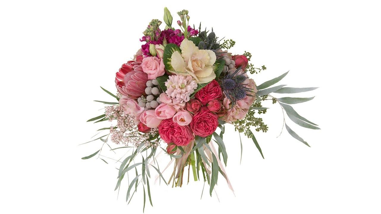 Modern Garden Style Bridal Bouquet