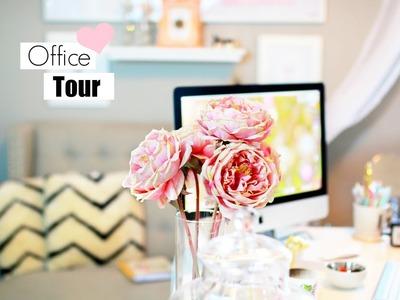 Room Tour Makeup Room Office And Closet Tour! MissLizHeart
