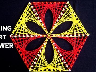 String Art Patterns - String Art Flower Making by Sonia Goyal