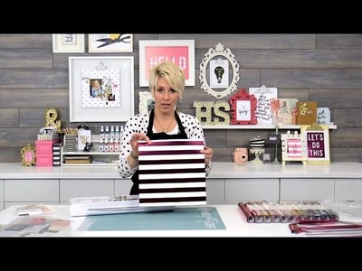 Tips & tricks to get started using the Minc Foil Applicator with Heidi Swapp