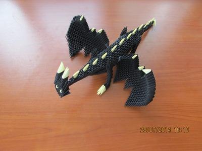3D Origami Dragon Tutorial   Part 1